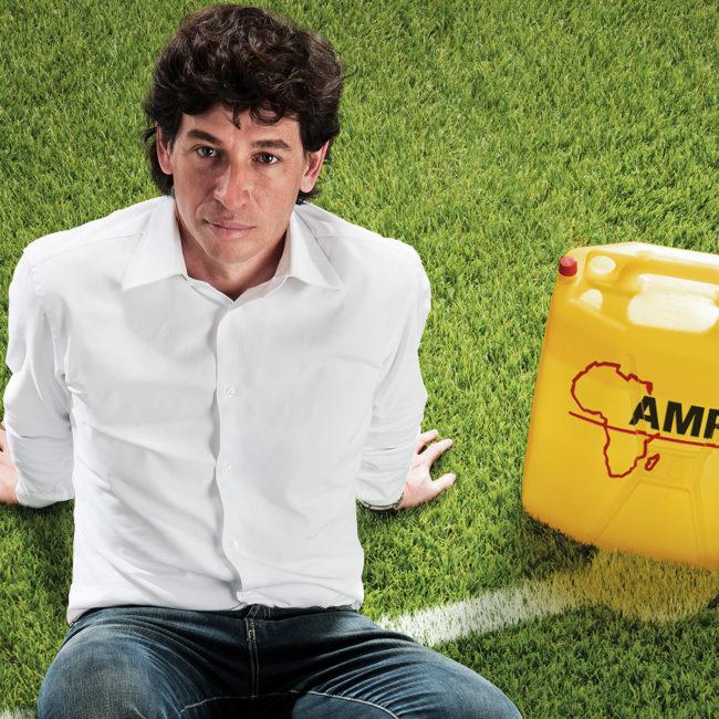 Campagna AMREF Demetrio Albertini