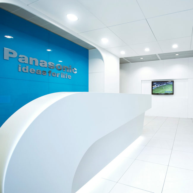 Panasonic reception